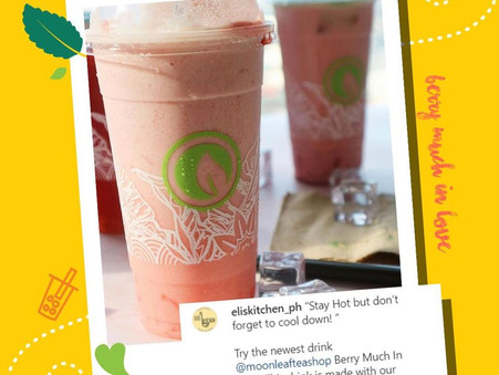 The sun is up and out, cool down with #BerryMuchInLove