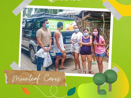 #BangonMaasin was initiated by our newly opened Leyte branch. #MoonleafCares