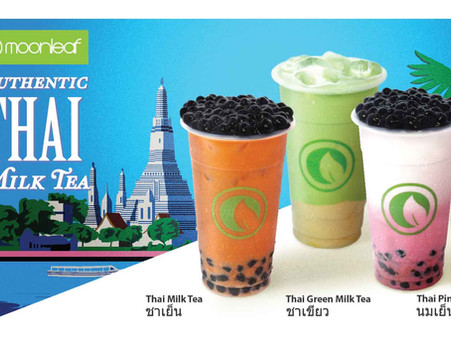 New Moonleaf Thai Milk Teas