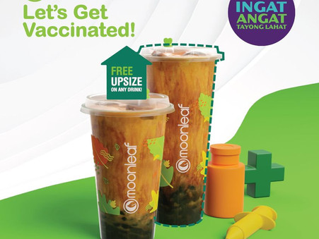 Get a FREE UPSIZE when you get vaccinated!