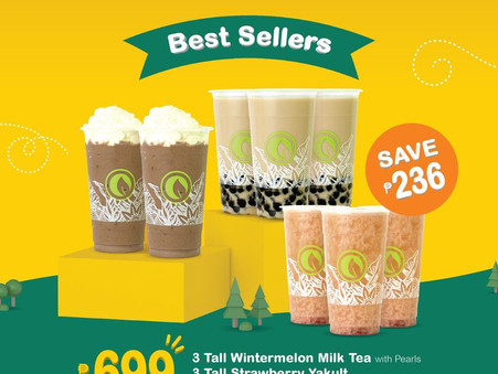 8 drinks for ₱699? Only with Moonleaf!