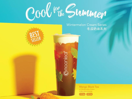 Keep it cool with this unique take on mangoes and cream. Coming soon!