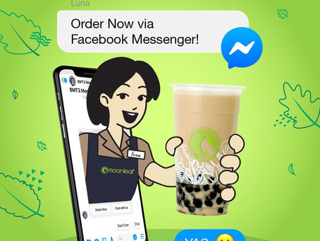 #GoodVibesInACup through Messenger? YAS PLEASE