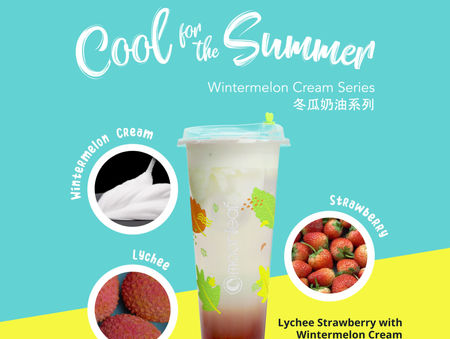 Craving for something fruity, light, and refreshing?