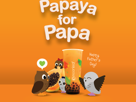 Celebrate this Father's day with a Papaya for Papa!