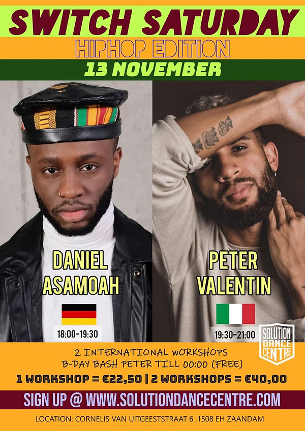 Switch Saturday 13 november