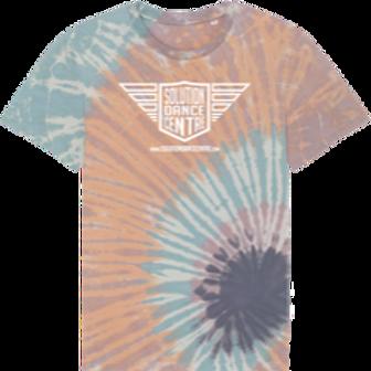 Tie Dye Duurzame t-shirt