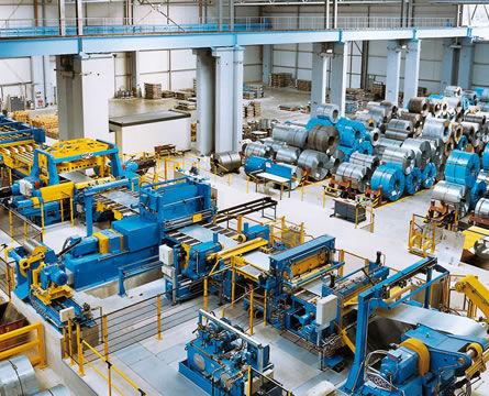 Linea de procesamiento de bobinas GEORG