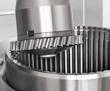 maquinado de engrane interno en Gleason 300ps