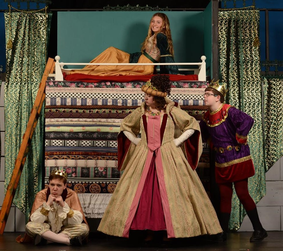 "Stages ""Once Upon a Mattress"""