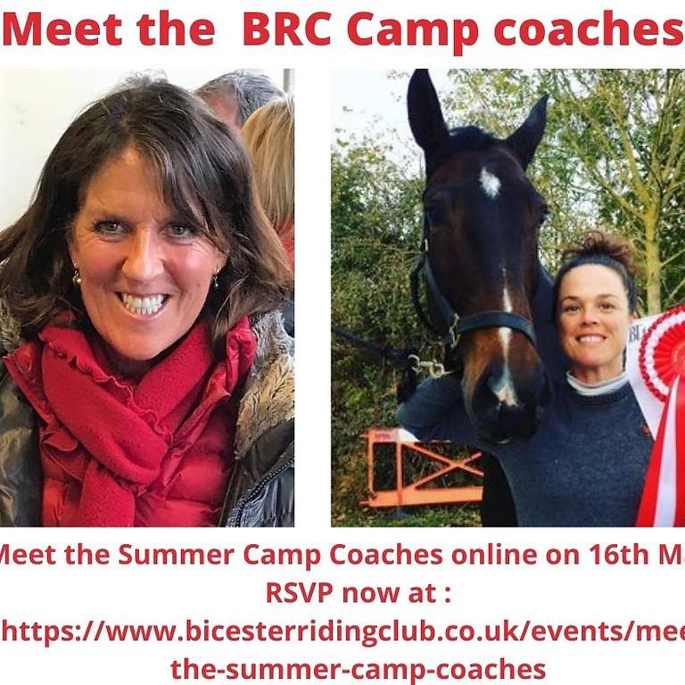 Meet the Summer Camp Coaches
