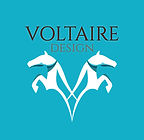 new Voltaire Design square turquoise log