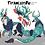 Thumbnail: Digital Feral Character Reference Sheet
