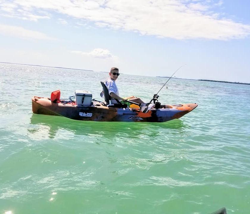 Kayak Fishing Tour Boca Grande, FL