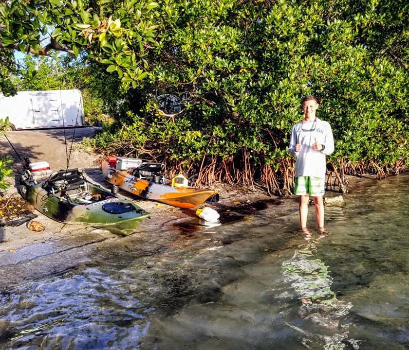Kayak Fishing Glass Bottom Rentals