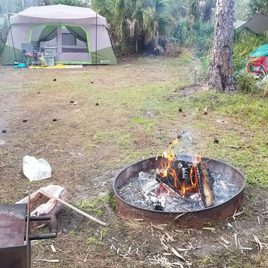 camping mayakka state park north port .j