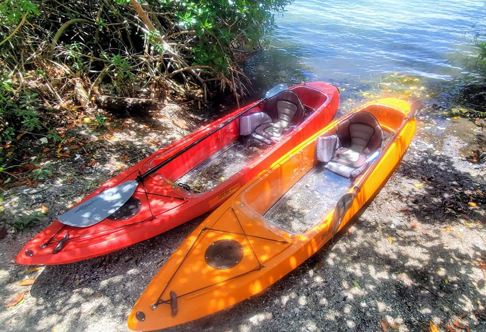 Clear Kayak Reservation- 2 hours