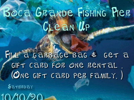 Boca Grande Fishing Pier Clean Up!