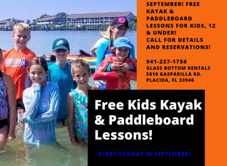 Free Kayak & Paddleboard Lessons for Kids!