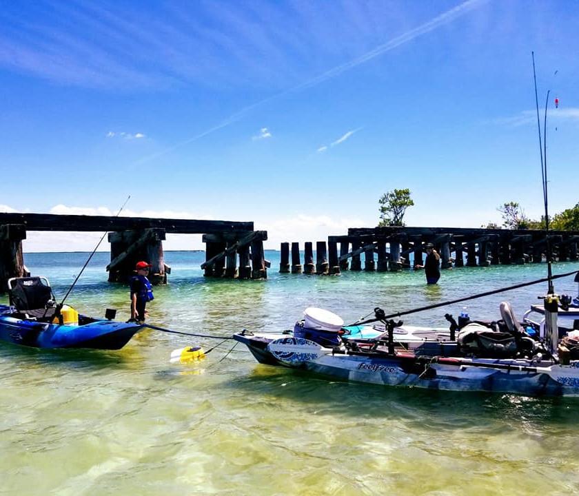 Kayak Fishing Tour Boca Grande Sandbar