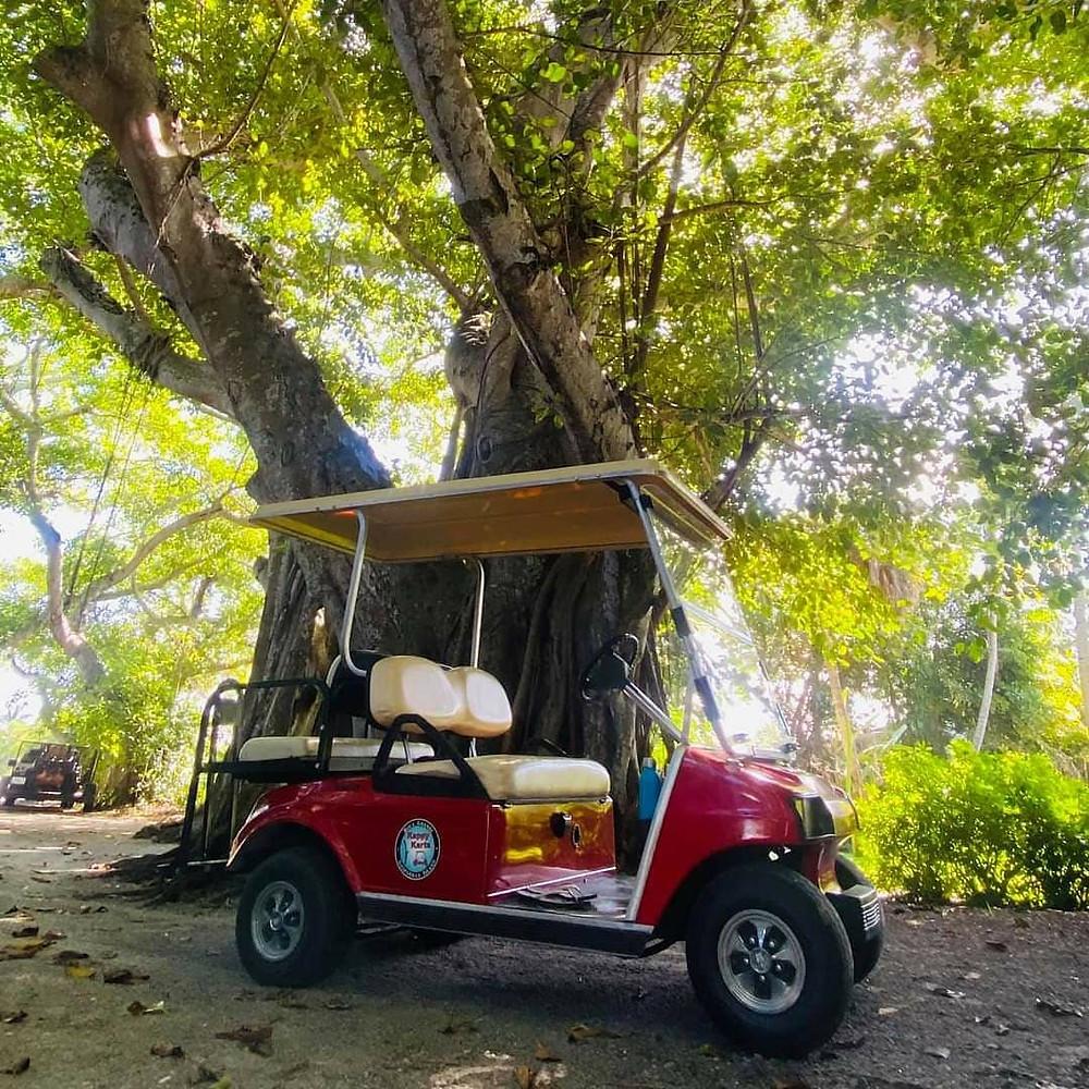 Boca Grande Golf Cart Guided Tour Glass Bottom Rentals