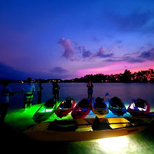 LED Sunset Kayak Tour