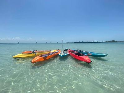 clear kayak rental boca grande sandbar f
