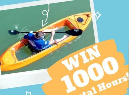 Giveaway- Win 1000 Rental Hours!