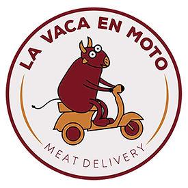 La Vaca en Moto