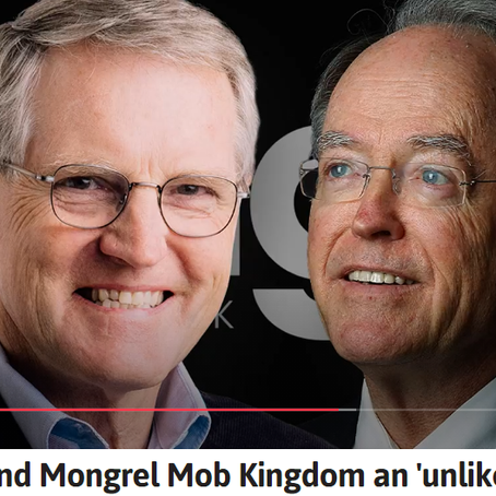 Peter Williams: Don Brash and Mongrel Mob Kingdom an 'unlikely alliance'
