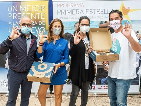 IV Torneo de Pádel Fundación Carolina Diez Mahou con el apoyo del Legado María de Villota
