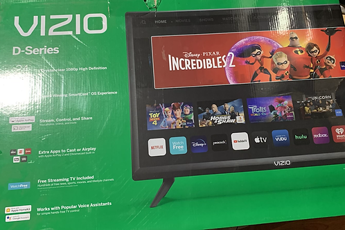 Vizio D series 24 in Smart TV