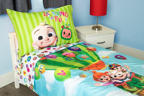 Cocomelon Toddler Bed Set