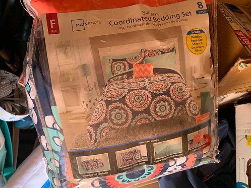 8 piece bedding set