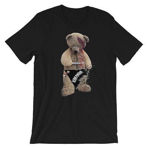 Subliminal Propaganda Scare Bear Short-Sleeve T-Shirt