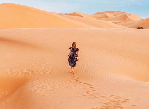 Deserto: da precariedade à riqueza