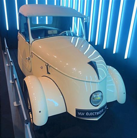 Peugeot VLV électrique (Véhicule léger de ville) - 1941