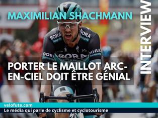 Maximilian Schachmann : « Un an avec le maillot arc-en-ciel, ce doit être vraiment génial »