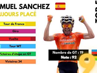 Top 5 sans GT - Samuel Sanchez, toujours placé
