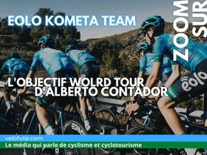 Eolo Kometa, l'objectif World Tour de Contador
