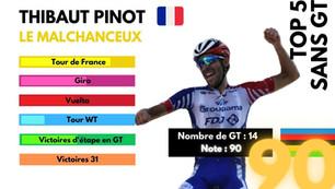 Top 5 des coureurs sans Grand Tour : Thibault Pinot, le maudit