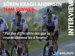 """Sören Kragh Andersen : """"Progresser en endurance"""""""