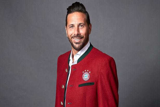Claudio Pizarro es el nuevo embajador del Bayern Múnich