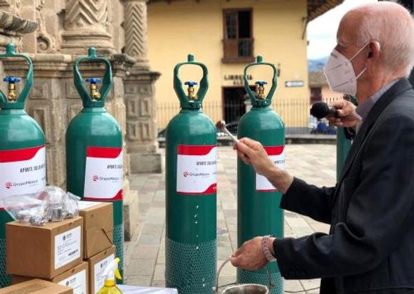 Cajamarca Respira ayudará con oxígeno a pacientes no hospitalizados