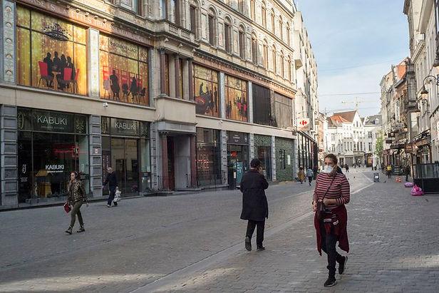 En la segunda ola de covid-19 Bélgica es el país europeo más golpeado