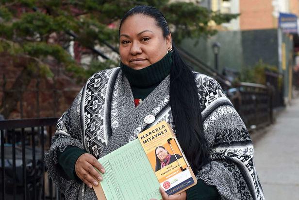 Peruana Marcela Mitaynes gana las elecciones primarias en Nueva York