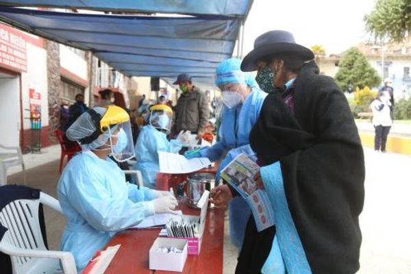 Operación Tayta atendió a más de 500 personas en primer día de atención