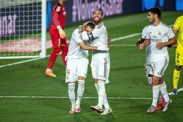 Real Madrid se corona campeón de la liga española