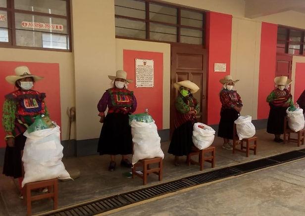 Qali Warma entrega 213 toneladas de alimentos en zonas altoandinas