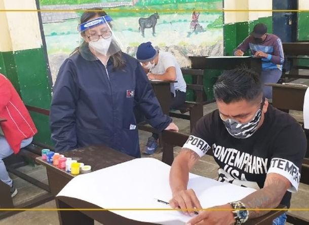 Para superar impacto del covid-19 internos de penal en Cajamarca reinician actividades